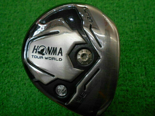 HONMA FAIRWAY WOOD GOLF CLUB TOUR WORLD TW727 YZ75 2015 JP MODEL 3W S-FLEX