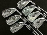DAIWA GLOBERIDE ONOFF FORGED 2011 7PC ONOFF S-FLEX IRONS SET GOLF 10297