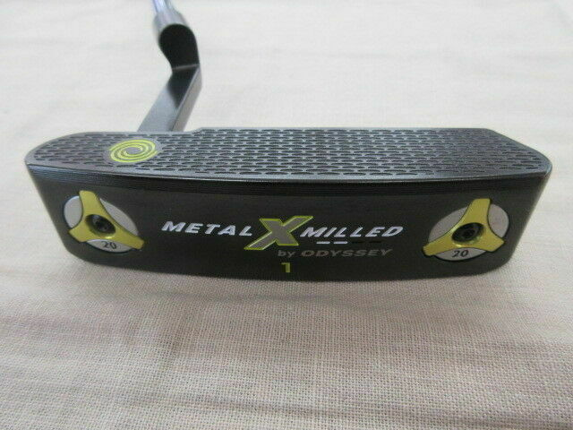LEFT-HANDED ODYSSEY METAL-X MILLED #1 34INCH PUTTER GOLF CLUB