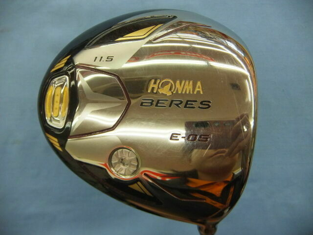 HONMA LADIES GOLF CLUB DRIVER 2017 BERES E-05 3-STAR LOFT-11.5 L-FLEX 5157 BERES