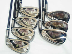 2011MODEL MARUMAN MAJESTY VANQUISH-VR 7PC R-FLEX IRONS SET GOLF CLUB