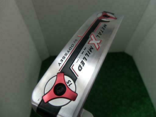 ODYSSEY METAL-X MILLED VERSA #1 33INCH PUTTER GOLF CLUBS