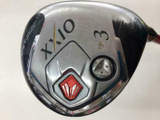 GOLF CLUBS FAIRWAY WOOD DUNLOP XXIO 2014 RED 3W S-FLEX 10267