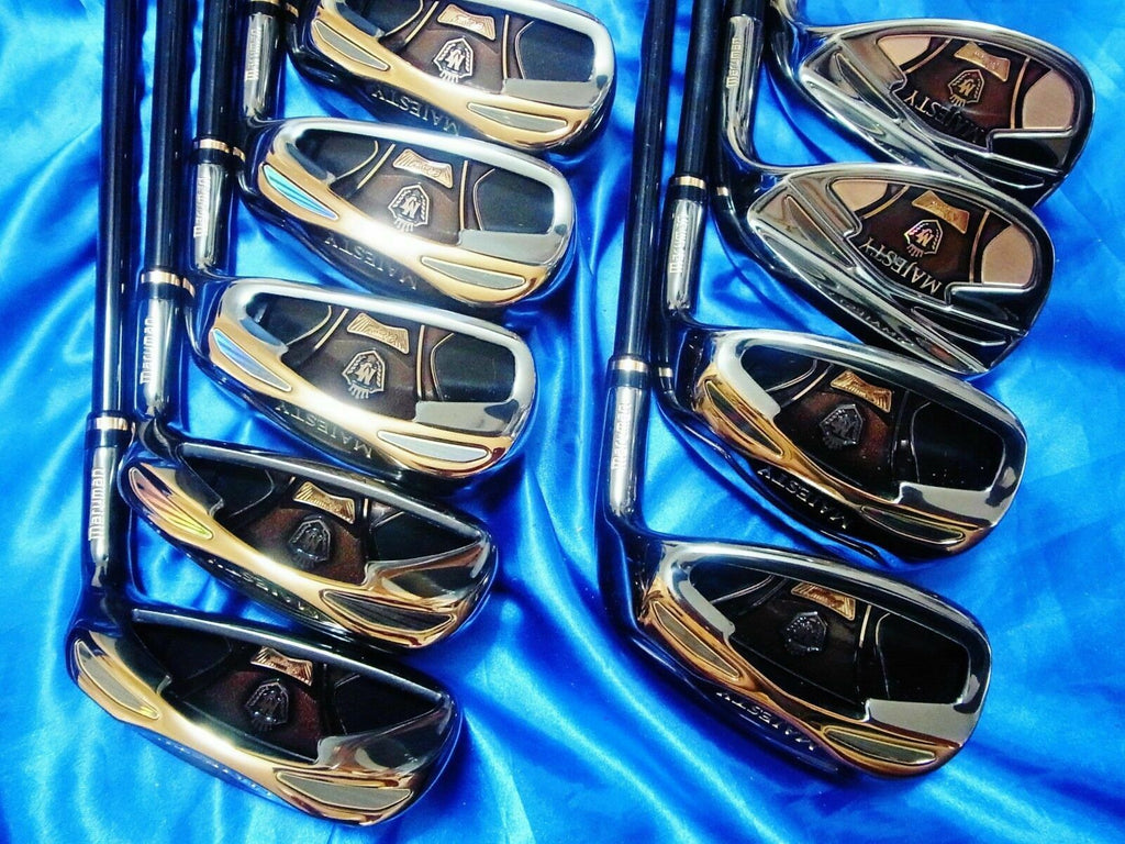 9PC MARUMAN MAJESTY ROYAL-LV R-FLEX IRONS SET GOLF CLUBS 4188 MAJESTY
