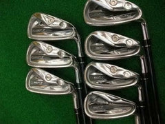2011 JAPAN MODEL MACGREGOR MACTEC NV 201 7PC R-FLEX IRONS SET GOLF CLUBS