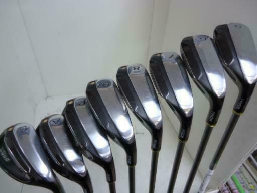 PRGR SUPER EGG 2016 8PC EGG R-FLEX IRONS SET GOLF 10277