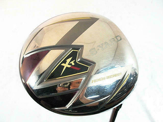 2013 SEIKO GOLF CLUB DRIVER S-YARD XT 10.5DEG S-FLEX