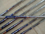 Bridgestone JGR HYBRID FORGED 7PC NSPRO Zelos 8 R-FLEX IRONS SET Golf