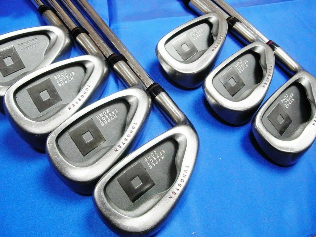 DAIWA GLOBERIDE LEFT-HANDED ONOFF 7PC S-FLEX IRONS SET GOLF CLUBS 6227