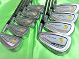 HONMA GOLF CLUBS LB-606 2-STAR GOLD 9PC R-FLEX IRONS SET