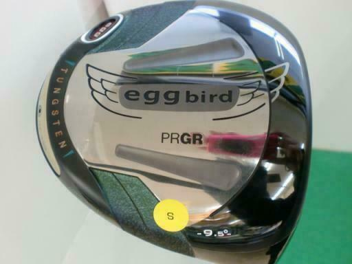 2014MODEL PRGR GOLF CLUB DRIVER EGG BIRD 2014 M-43 9.5DEG S-FLEX