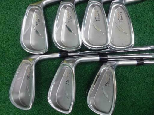 FOURTEEN TC-777 FORGED 2014 7PC NSPRO S-FLEX IRONS SET GOLF 10297