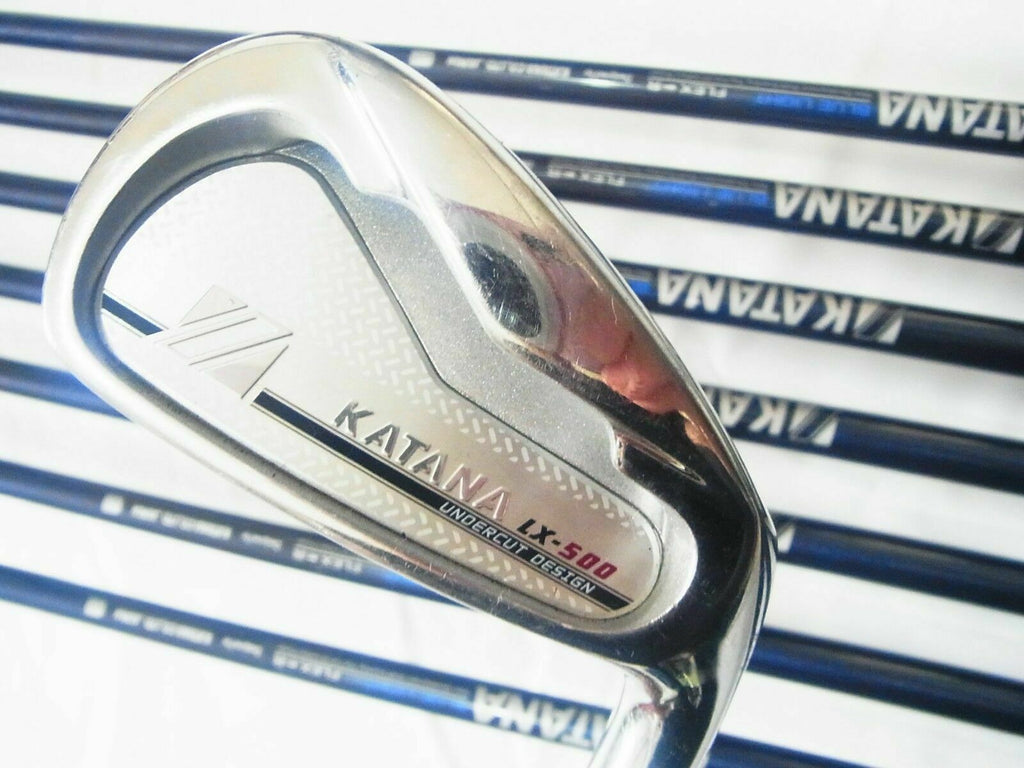 KATANA GOLF CLUBS LX-500 8PC R-FLEX IRONS SET