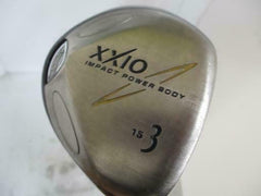 GOLF CLUBS FAIRWAY WOOD DUNLOP XXIO 2004 3W L-FLEX 10247