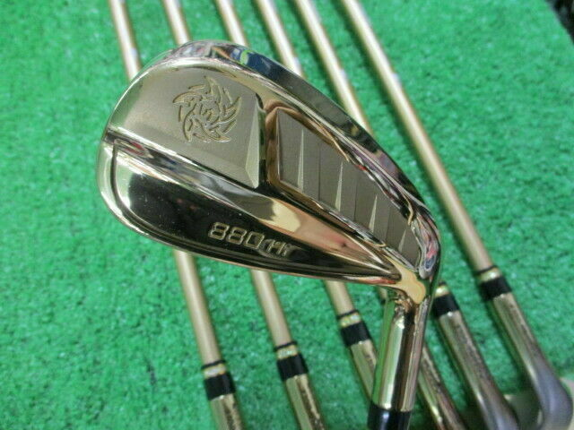 KATANA VOLTiO NINJA 880Hi GOLD 7PC Speeder SR-FLEX IRONS SET GOLF CLUBS