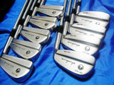 RARE SR-FLEX MUSCLE HONMA PP-717 TOUR MODEL 9PC IRONS SET GOLF CLUBS 267 BERES