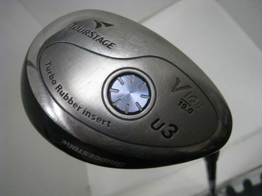 BRIDGESTONE Tour Stage V-iQ 2006 U3 S-Flex Utility Hybrid Golf Clubs