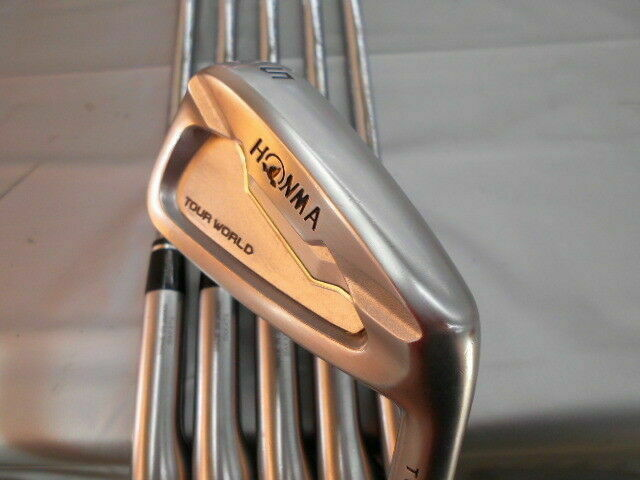 HONMA TOUR WORLD TW737V 2017 6PC DYNAMIC G S-FLEX IRONS SET GOLF CLUBS 189 BERES