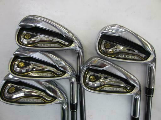TAYLOR MADE GLOIRE 2015 JP MODEL 5PC GLOIRE SR-FLEX IRONS SET GOLF 10187