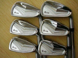 BRIDGESTONE TOUR STAGE V-IQ FORGED 2012 6PC S-FLEX IRONS SET GOLF CLUBS