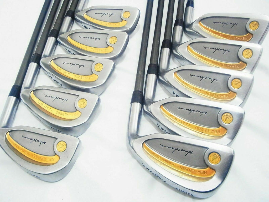 PERFECT 10PC 4-STAR HONMA NEW-LB280 GOLD LINE R-FLEX IRONS SET GOLF CLUBS