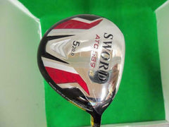 GOLF CLUBS FAIRWAY WOOD KATANA ATC 589 5W SR-FLEX