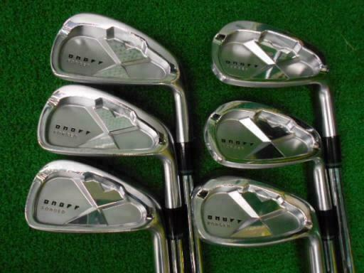 DAIWA GLOBERIDE ONOFF FORGED 2013 6PC NSPRO R-FLEX IRONS SET GOLF 10297