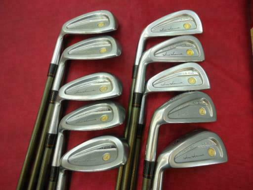 LEFT-HANDED HONMA LB-606 GOLD 4-STAR 10PC R-FLEX IRONS SET GOLF CLUBS BERES