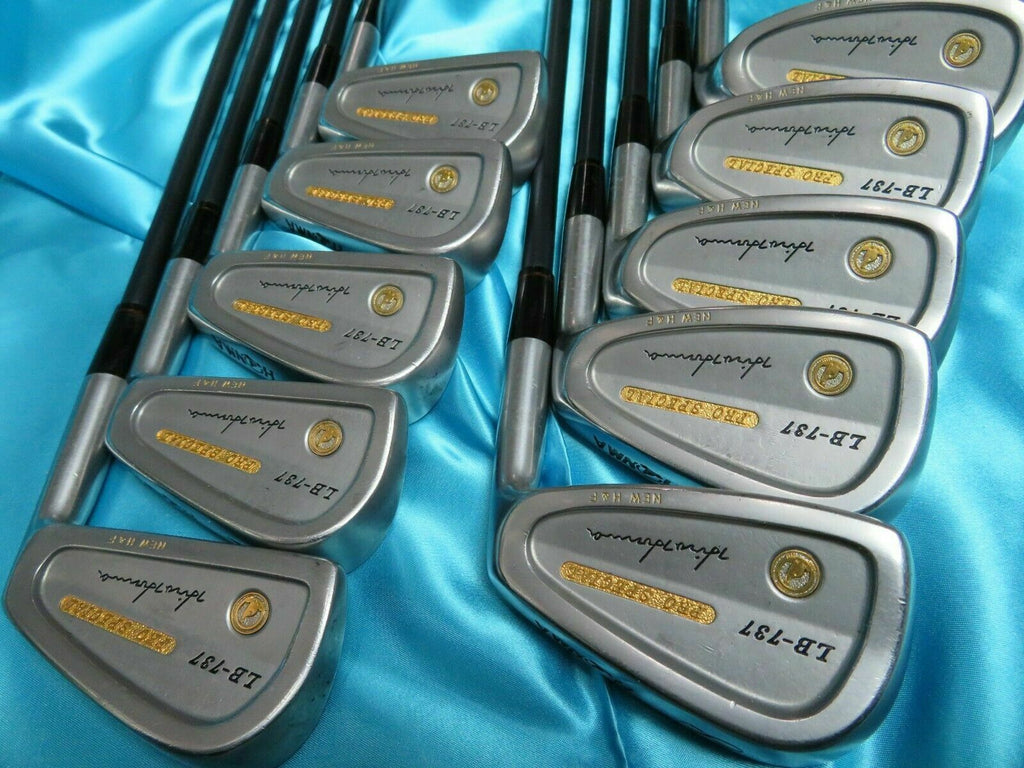 HONMA GOLF 2-STAR GOLD IRONS SET LB-737 PRO SPECIAL NEW 10PC S-FLEX