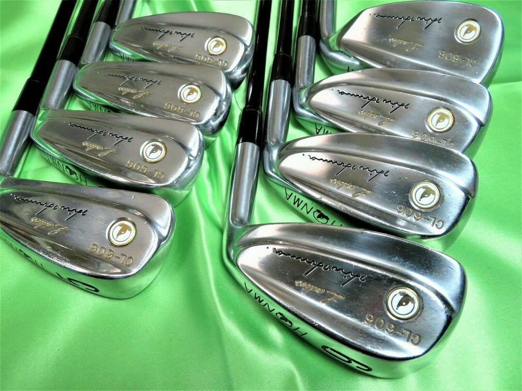 HONMA GOLF CLUBS IRONS SET CL-606 WHITE MOLE LADIES 8PC L-FLEX