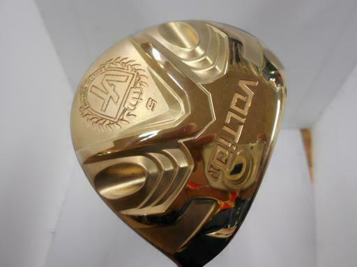 GOLF CLUBS FAIRWAY WOOD KATANA VOLTIO 4 GOLD 2017 5W SR-FLEX