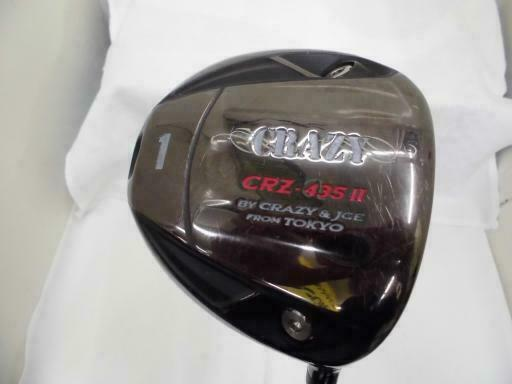 CRAZY CRZ-425 GOLF CLUB DRIVER 2 LOFT-10 S-FLEX 9207