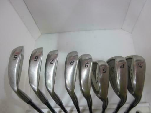 BRIDGESTONE  TOUR STAGE V-IQ 2006 8PC TSI-50 S-FLEX IRONS SET GOLF 10267