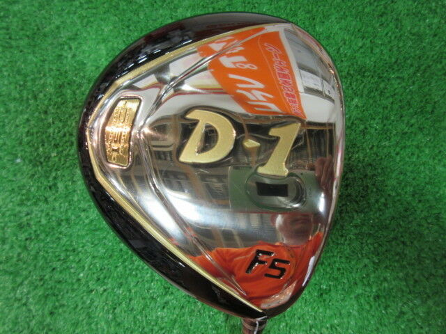 GOLF CLUBS FAIRWAY WOOD 2012MODEL RYOMA D-1 F5 5W FLEX-SR LOFT-18GOLF CLUBS