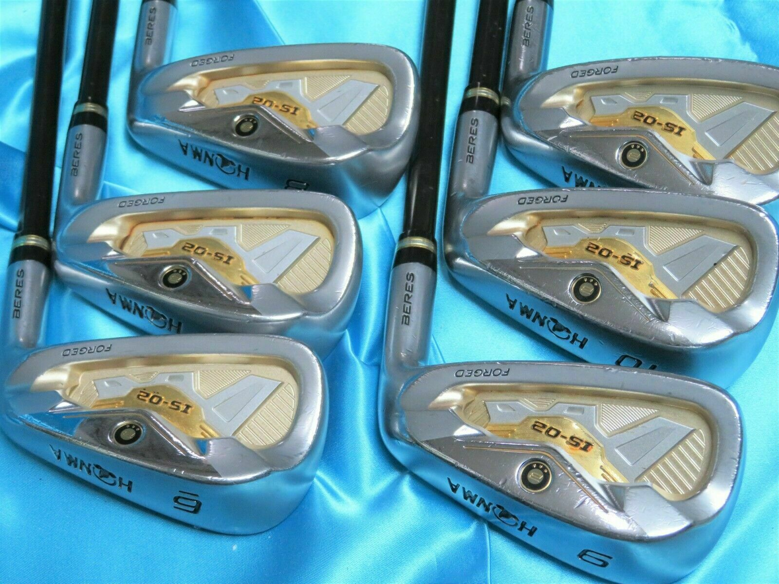 HONMA BERES IS-02 3-STAR GOLF CLUBS 6PC R-FLEX IRONS SET