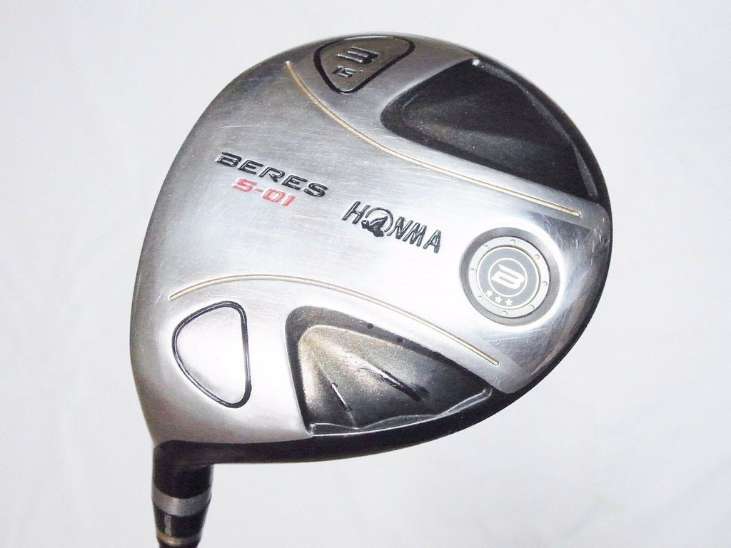 GOLF CLUBS FAIRWAY WOOD 3-STAR LEFT-HANDED HONMA BERES S-01 3W R-FLEX 868 BERES