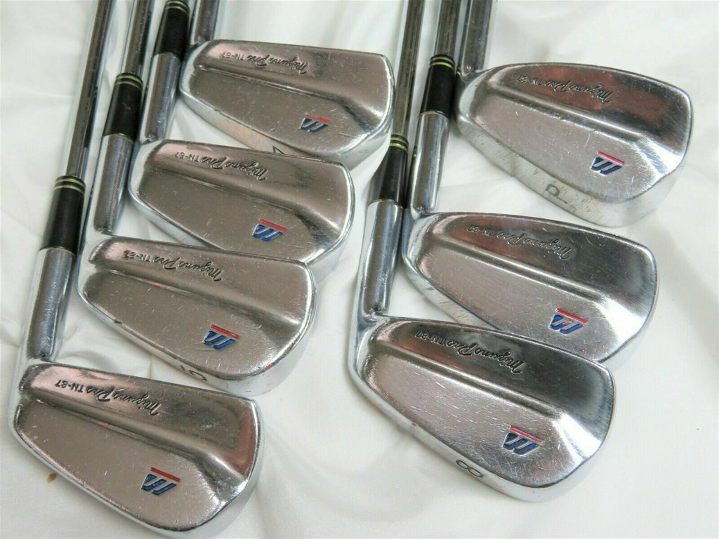 Mizuno Golf Clubs Pro TN-87 4-P 7pc DG R-FLEX Irons Set Forged RARE Nakajima