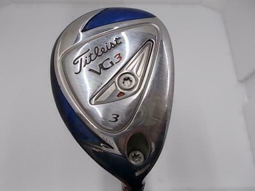 TITLEIST VG3 2014 JAPAN MODEL U3 LOFT-19 TITLEISTVG R-FLEX HYBRID GOLF CLUBS