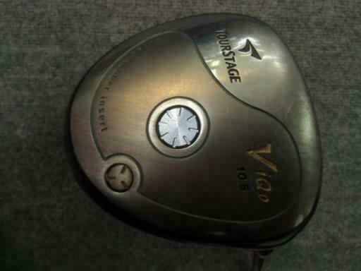 BRIDGESTONE TOUR GOLF CLUB DRIVER STAGE V-IQ 450 10.5 R-FLEX VIQ