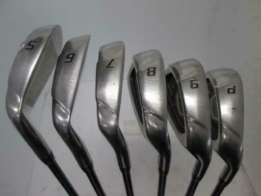 BRIDGESTONE  TOUR STAGE V-IQ 2008 6PC VI-50 S-FLEX IRONS SET GOLF 10267