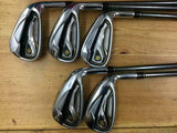 TAYLOR MADE GLOIRE 2015 JP MODEL 5PC GLOIRE R-FLEX IRONS SET GOLF 10187
