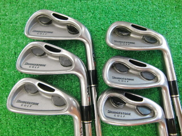 BRIDGESTONE  GC MID 6PC  IRONS SET S-FLEX EXCELLENT GOLF CLUBS
