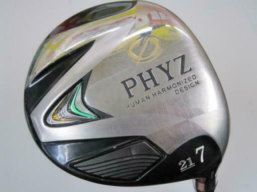 GOLF CLUBS FAIRWAY WOOD BRIDGESTONE  PHYZ 2013 7W SR-FLEX 5267
