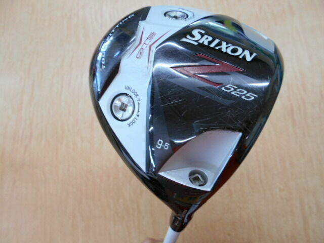 DUNLOP SRIXON GOLF CLUB DRIVER Z525 BLACK IP 2013 9.5DEG S-FLEX