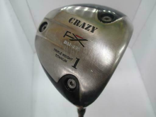 CRAZY FX GOLF CLUB DRIVER BM-435 LOFT-10 S-FLEX 9207