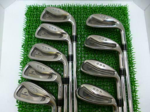 BRIDGESTONE  TOUR STAGE V-IQ 2006 9PC NSPRO R-FLEX IRONS SET GOLF 10267