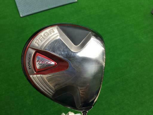 2011 PRGR GOLF CLUB DRIVER RED 505 10.5DEG SR-FLEX