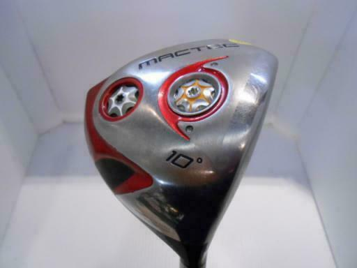 2011MODEL MACGREGOR GOLF CLUB DRIVER MACTEC DH 101 10DEG S-FLEX