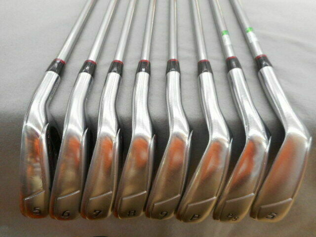 Bridgestone TourStage X-BLADE GR 2012 8PC TourAD B12-03i S-FLEX IRONS SET Golf