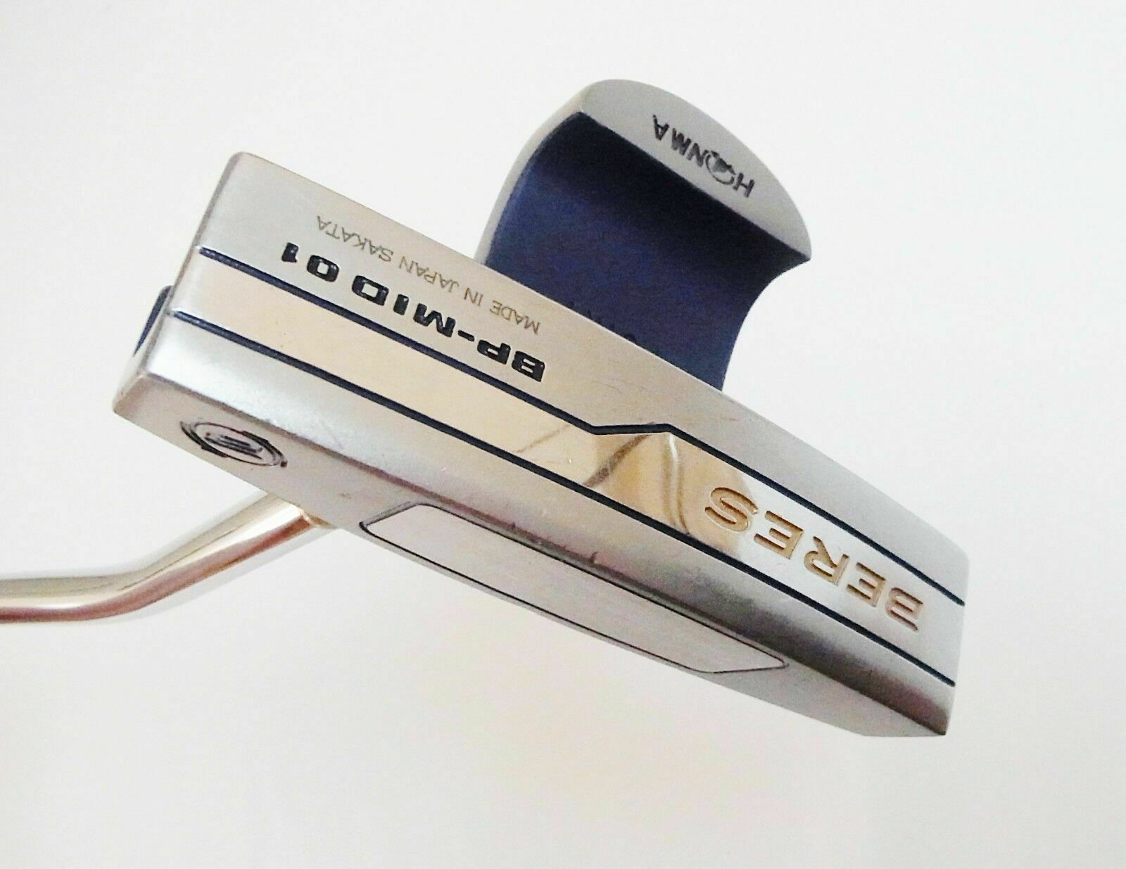 HONMA BERES BP-MID 01 BLUE 34INCH PUTTER GOLF CLUBS 6197 BERES